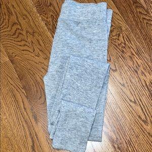 American Eagle gray sweater leggings small